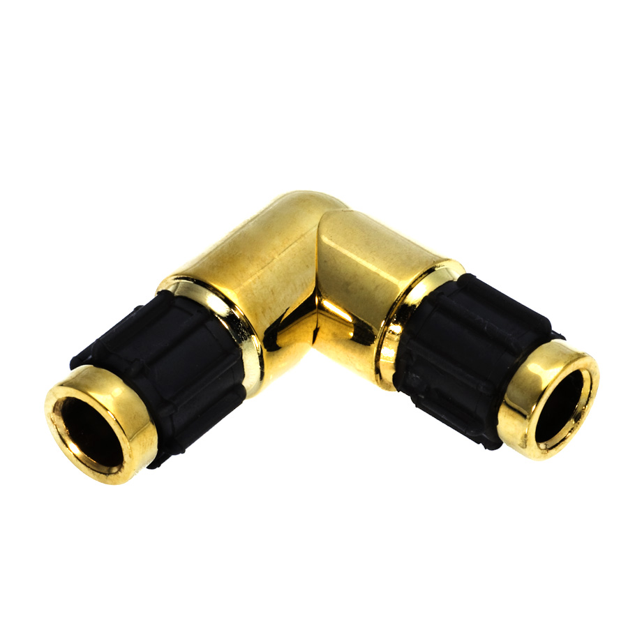 Corner curtain rod connector 2