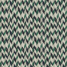 Havana Herringbone | Blue Green