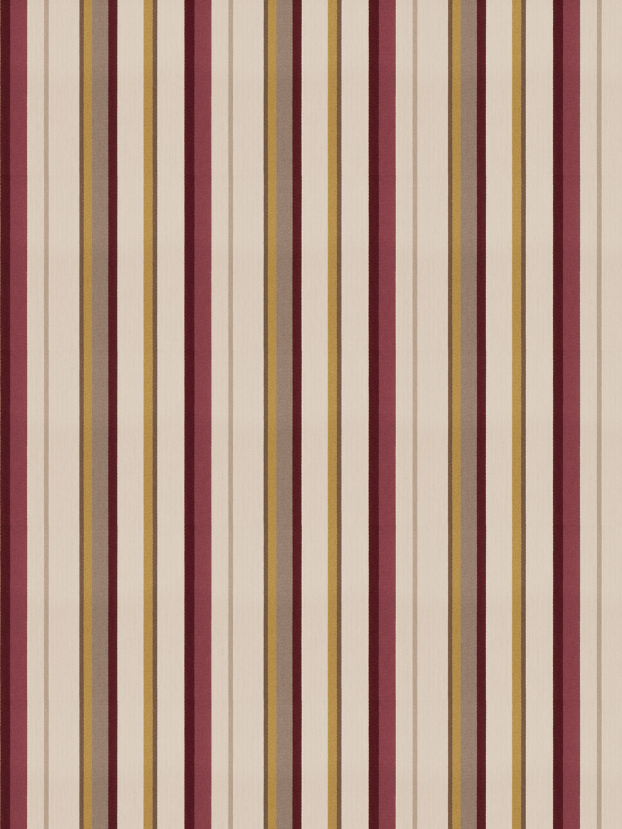 Spree Stripe Plum Garden