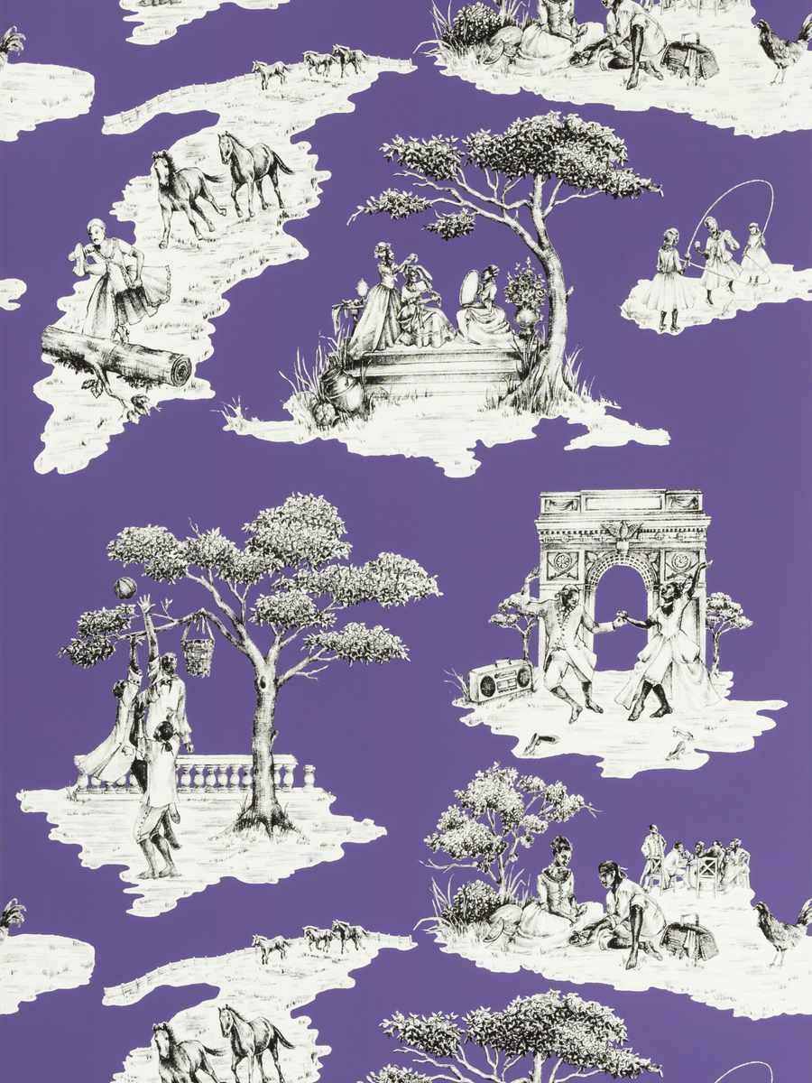 Harlem Toile Hsc PURPLE-07