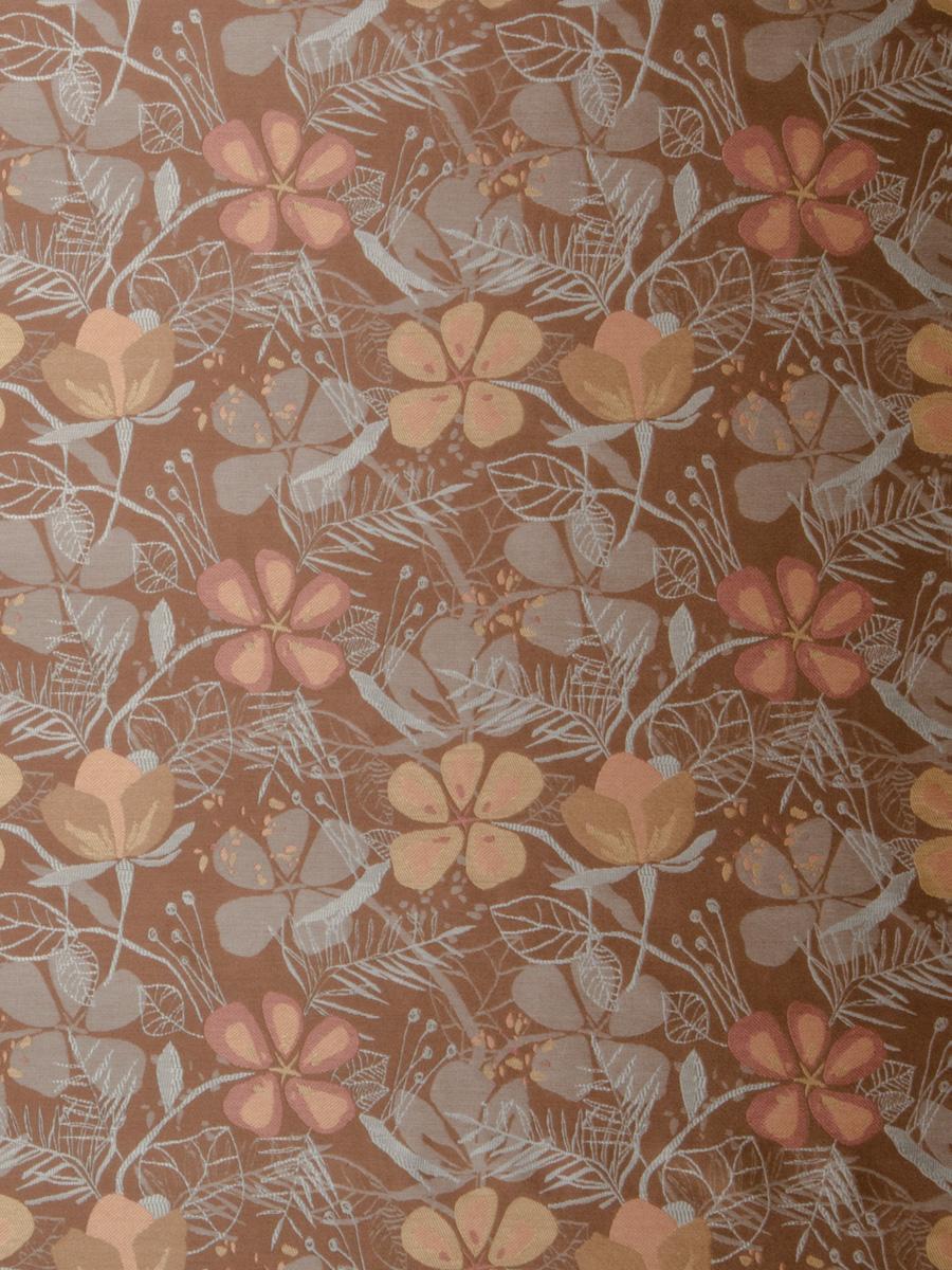 Flower Garden Amberglow   Fabric   S. Harris