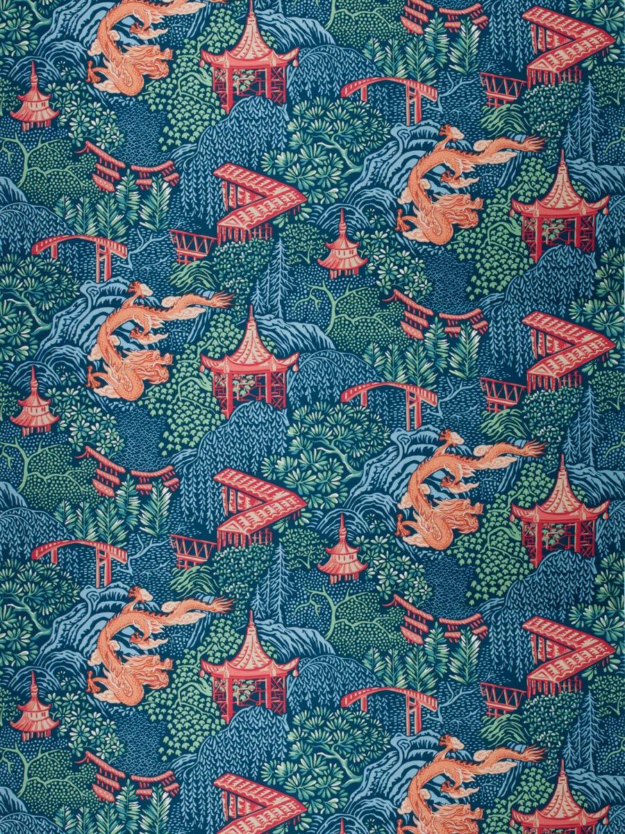 04225 Navy Fabric Fabricut