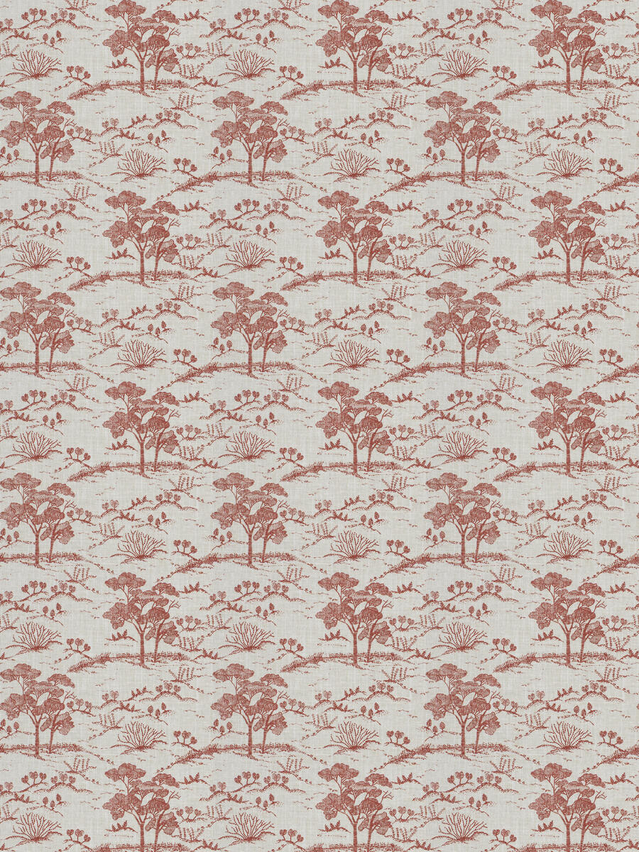Agriculture Toile Red