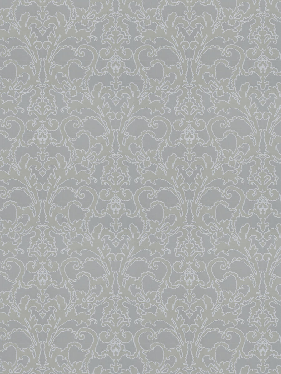 Beverly Hills Damask Grey