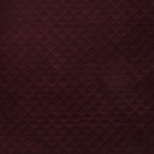 Quilted Velvet Bordeaux