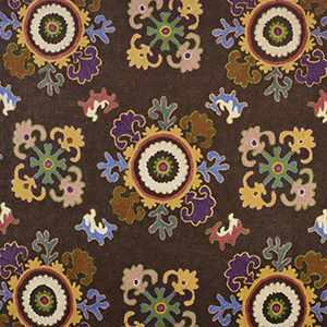 Bukhara Crewel Brown