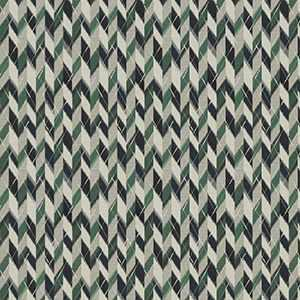 Havana Herringbone Blue Green