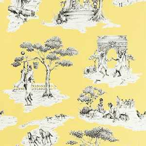 Harlem Toile Hsc YELLOW-01