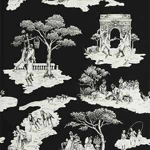 Harlem Toile Hsc White On BLACK-08