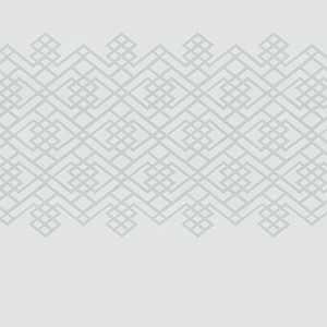 Trellis Stripe Platinum