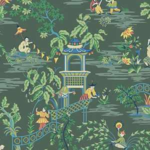 Tian Chinoiserie Wp Laurel