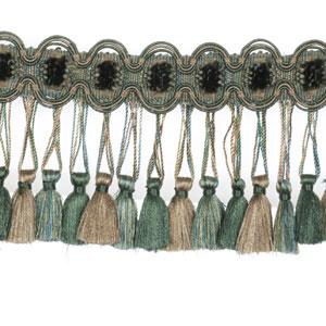0621L Tassel Fringe S0750 Peacock