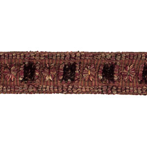 0863L Textured Tape S0353 Persian Red