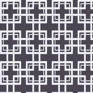 Maze Black White