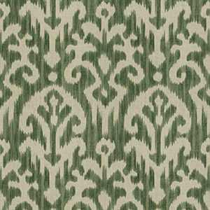 Hue Ikat Kelly Green